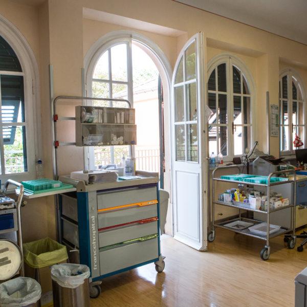 Casa di riposo Torriglia - infermeria
