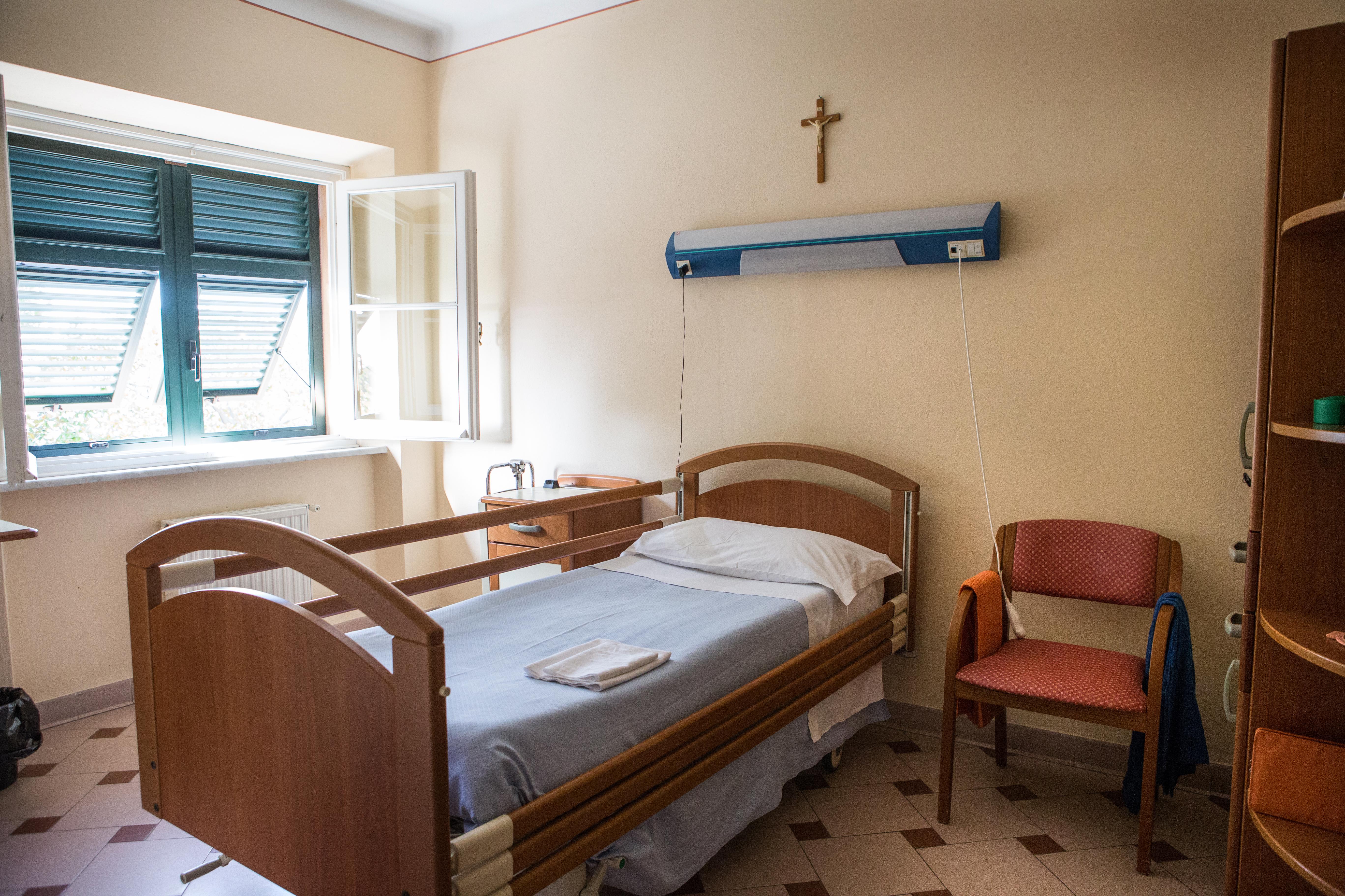 Casa di riposo Torriglia - camera finestra