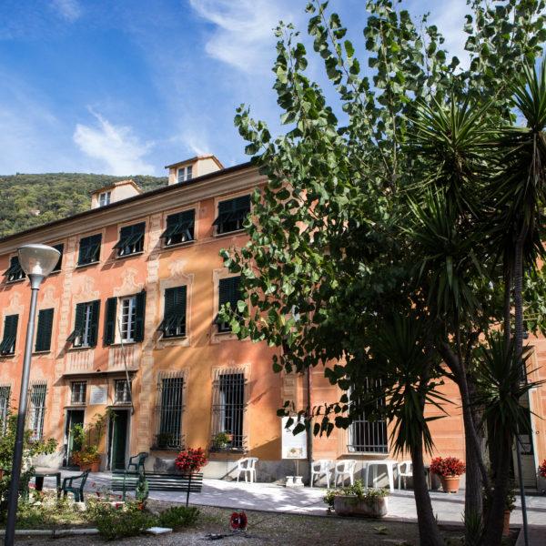 Casa di riposo Torriglia - giardino